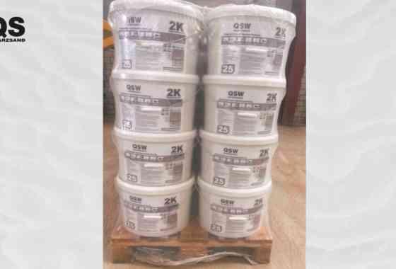 Produkteinführung - K2 Pflasterfugenmörtel auf Exposidharzbasis